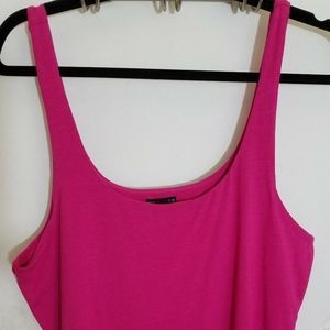 NWOT Express Womens Large Pink Tank Top Sleeveless